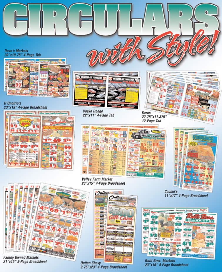 Circulars - With Style! -